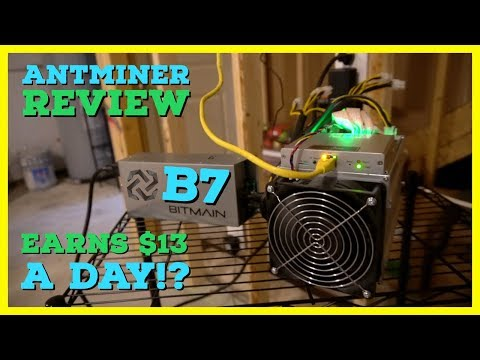 This Miner Is Projected To ROI In 6 Months Mining In Your BASEMENT?! Bitmain Antminer B7 Review