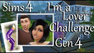 Sims 4: LP I'm a Lover Challenge Gen 4~Part 39