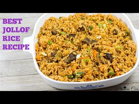 Cameroonian Jollof Rice - Best Jollof Rice Recipe Ever - Pre