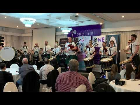 St Laurence O'Toole Pipe Band - Children's Cancer Charity Concert 2019 - Hornpipes