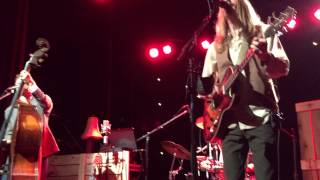 The Wood Brothers - Haw River Ball Room - 09-25-14 - 17 - Ophelia (The Band cover)