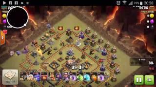 Clash Of Clans clear hall 11. Gamer Van Son ( clans 113_VN. War 22.03.2017)