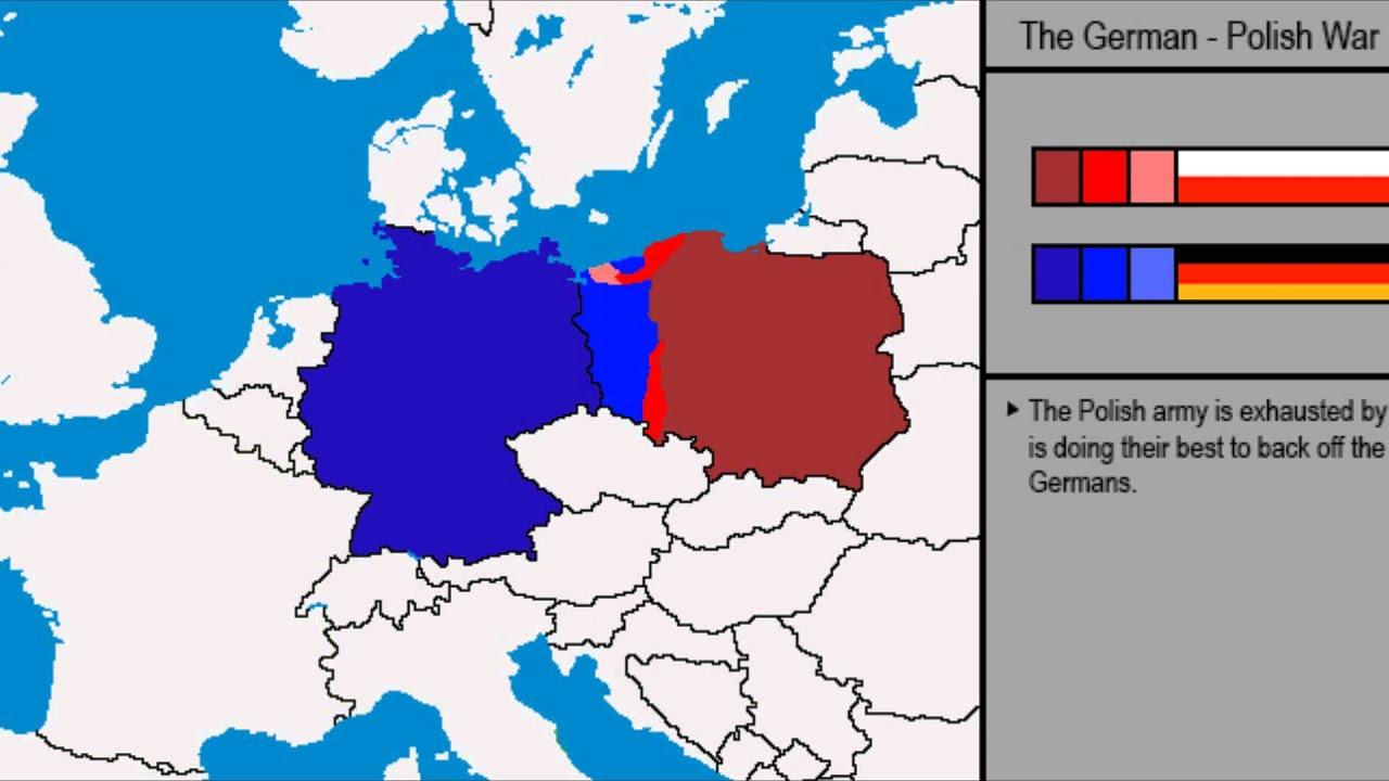 War Simulations | German - Polish War | - YouTube