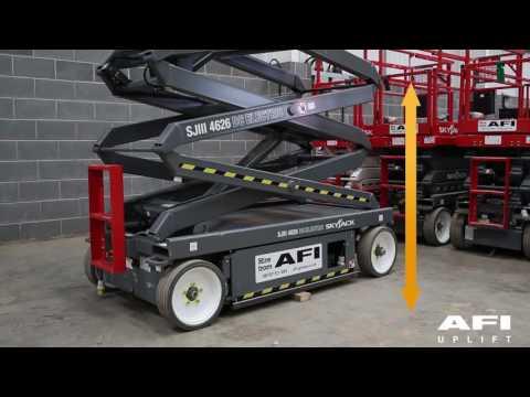 AFI MEWP Familiarisation videos Skyjack SJ6826RT, SJ6832RT, SJ8831