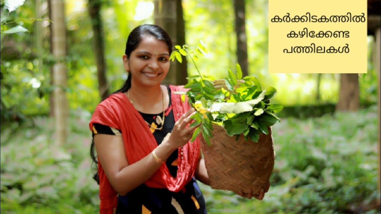 കർക്കിടകത്തിൽ കഴിക്കേണ്ട പത്തിലകൾ പരിചയപ്പെടാം /Karkkidakam Special Medicinal Ayurvedic Ten Leaves/