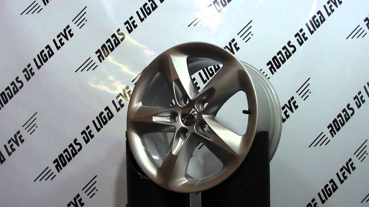 Roda Do Novo Ford Focus    5 Furos    Aro 16 Original