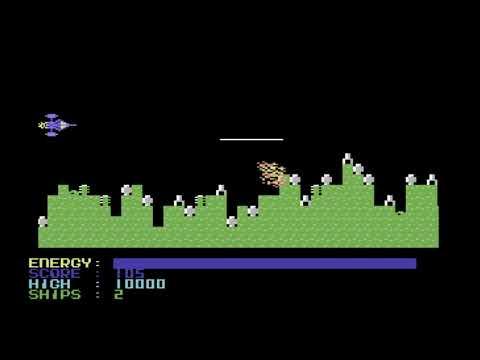 C64 Game: Moon Raider