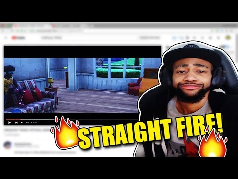 DAEQUAN REACTS TO A SONG REMIX OF HIM! *FIRE*
