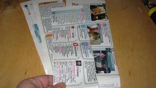 Корзинка своими руками из газеты.  Интересные идеи