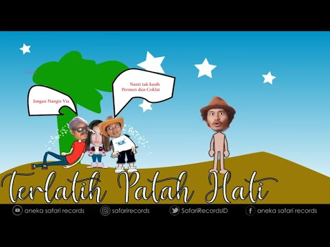 Via Vallen - Terlatih Patah Hati ( Official Music Video )