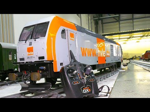 BIGGEST RADIO CONTROLLED LOCOMOTIVES!! RC MODEL TRAINS, LIVE STEAM LOCOMOTIVES