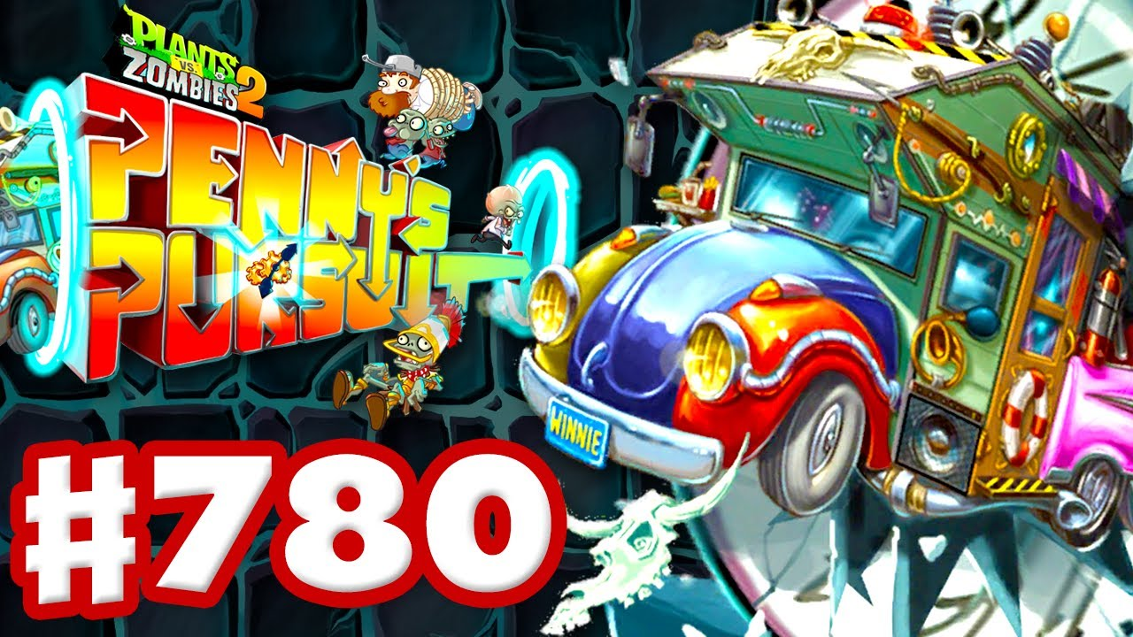 Penny's Pursuit! NEW Roman Zombies! New Mode! – Plants vs. Zombies 2 – Gameplay Walkthrough Part 780