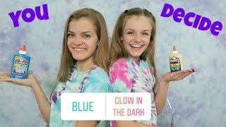 Our Instagram Followers Help Us Make Slime ~ Jacy and Kacy