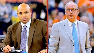 "Charles Barkley Responds Directly to Jim Boeheim about His ""Fat"" Comments 