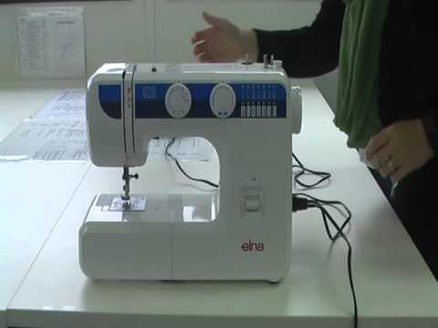 Setting Up The Machine YouTube Unique Elna 2000 Sewing Machine