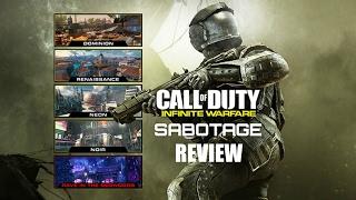 Infinite Warfare DLC 1: SABOTAGE Map Pack Review (CoD:IW)
