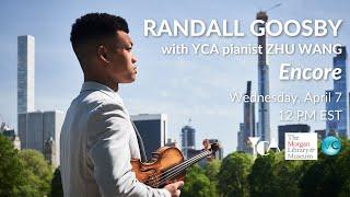 Randall Goosby - Encore Performance at The Morgan