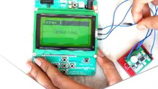 AVR ATmega32 + 128x64 Graphic LCD + Humidity Sensor