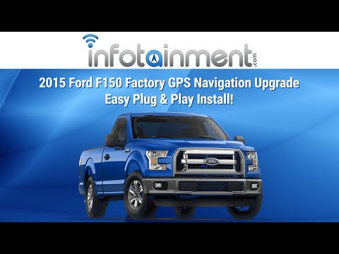 2015 Ford F150 Factory GPS Navigation Upgrade - Easy Plug & Play Install!