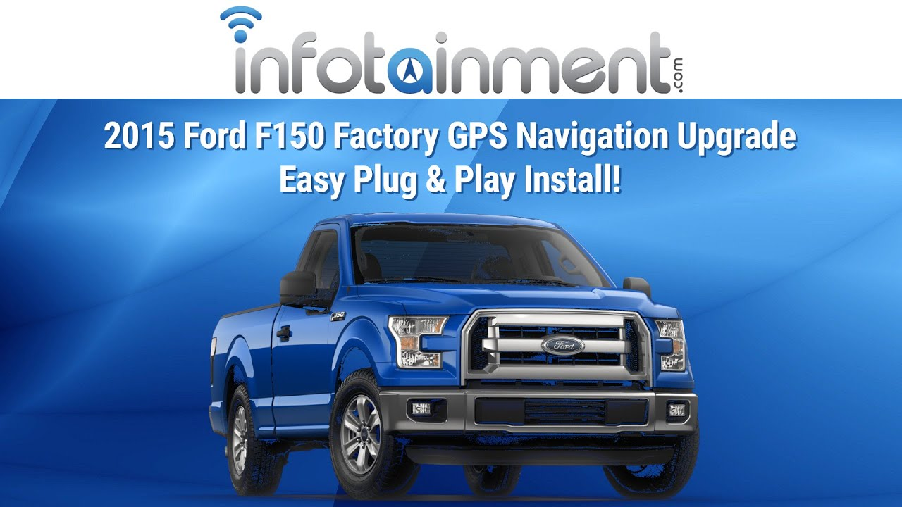 small resolution of 2015 ford f150 factory gps navigation upgrade easy plug play install youtube