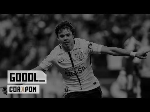 Gol - Corinthians 1x1 Ponte Preta - Paulistão 2017 - Final