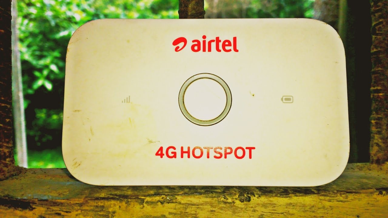 how to change my airtel hotspot password
