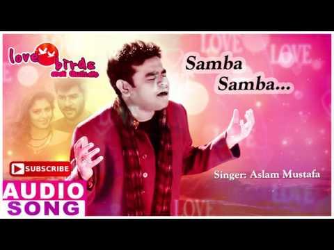 Samba Samba Full Song   Love Birds Tamil Movie Songs   Prabhu Deva   Nagma   AR Rahman