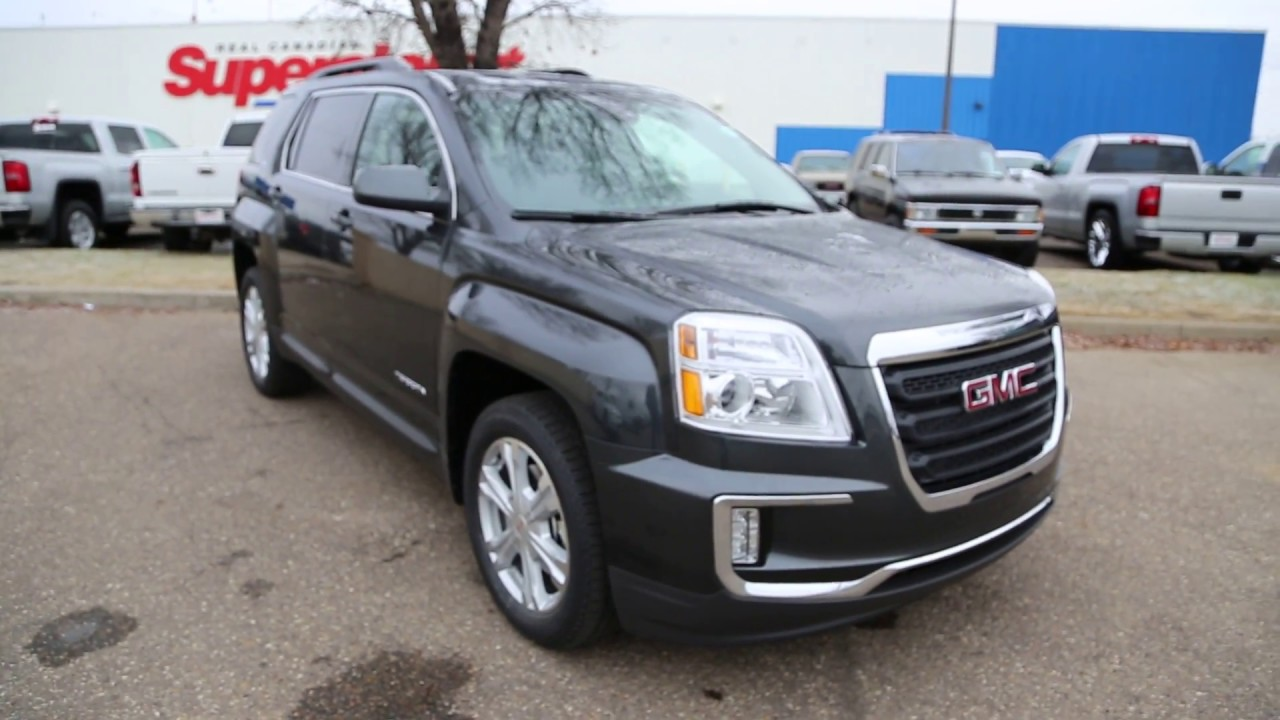 graphite grey metallic 2017 gmc terrain sle 2 for sale in medicine hat ab youtube. Black Bedroom Furniture Sets. Home Design Ideas