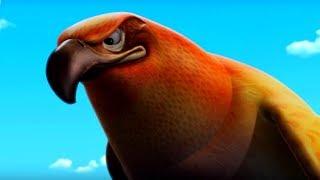 Маугли - Книга Джунглей – Полет коршуна 🐦 – развивающий мультфильм для детей