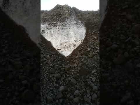 Возгорание угля на складе