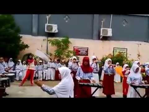 Latihan Drum Band SDN 016 Samarinda