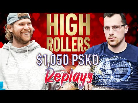 HIGH ROLLERS #02 $1,050 Roo_400 | Mararthur1 | Pimmss Final Table Replays 2019