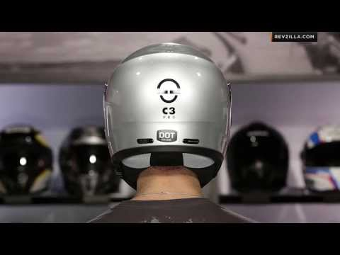 Schuberth C3 Pro vs C3 Helmet Comparison at RevZilla.com