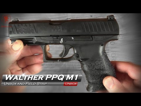 Walther PPQ M1 Unbox and Field Strip