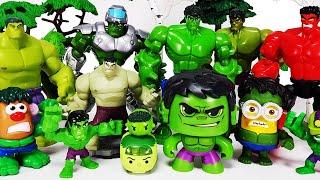 Avengers Hulk Assemble! Spider-Man, Iron Man, Captain America, Thor, Peppa Pig, Venom