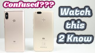 Xiaomi Mi A1 VS Redmi Note 5 Pro | Clear Your Confusion