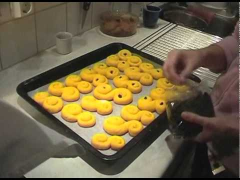 The Making Of Saffron Buns