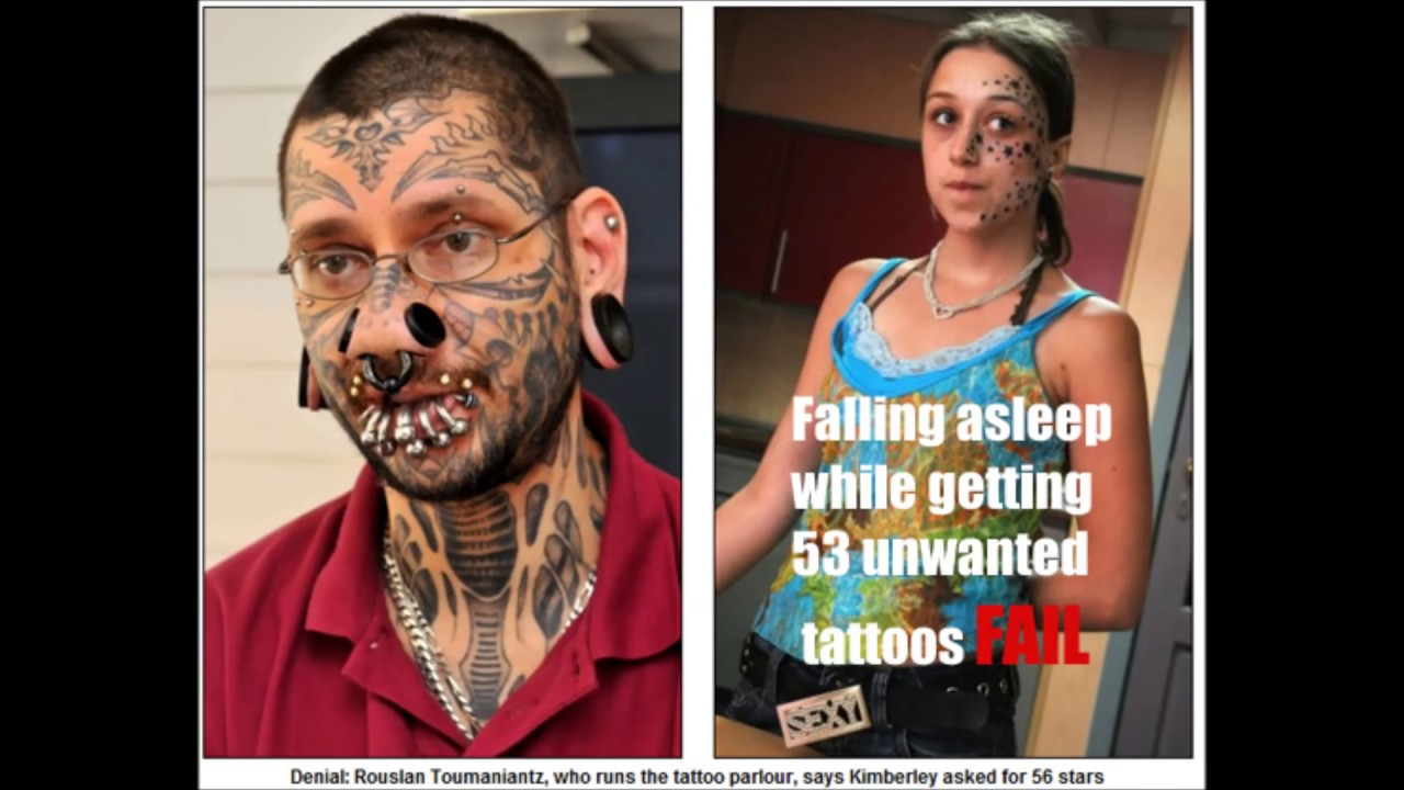 Top 5O Tattoo Fails