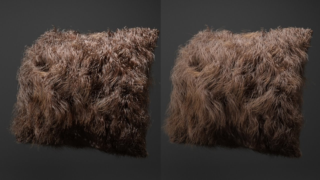 Tutorial No 60 Understanding Standard Hair Material In Arnold For