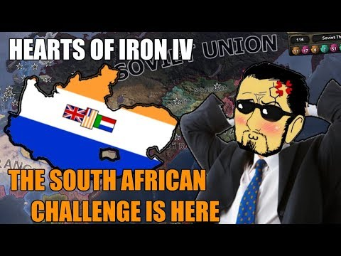 Hearts Of Iron 4: THE SOUTH AFRICAN CHALLENGE