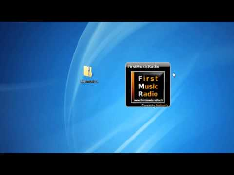 First Music Radio Windows 7 Gadget