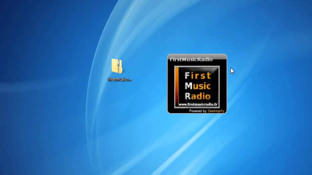 Edjing for windows 7 - First Music Radio Windows 7 Gadget