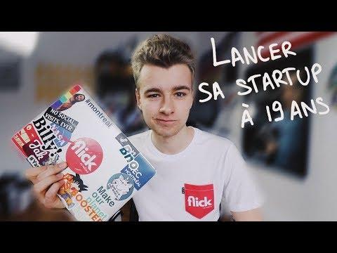 Lancer sa Startup à 19 ans
