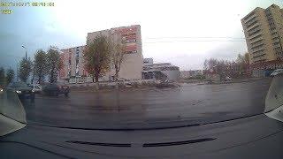 Daewoo подбила Ford. Северодвинск.