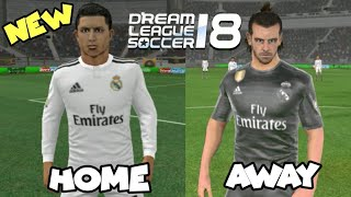 Find Anime dream league 2018 real madrid kits