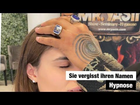 Unter Hypnose vergisst Sie ihren Namen