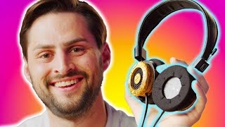 Were these made as a JOKE??? - Grado Hemp Headphones
