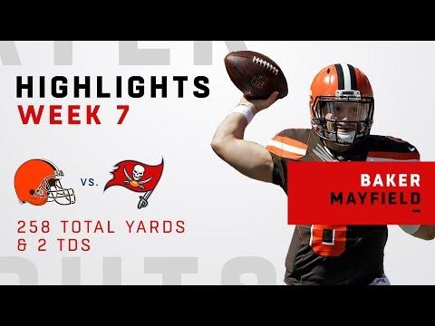 Baker Mayfield Tosses 2 TDs vs. Bucs