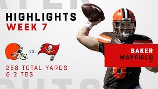 Baker Mayfield Tosses 2 TDs vs. Bucs