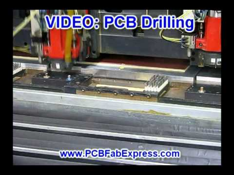 PCB Drilling Process - Printed Circuit Board Drilling